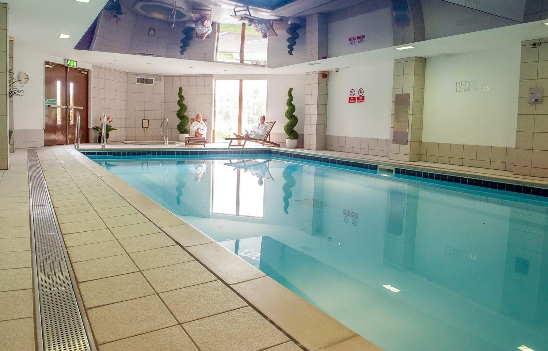 Pool at the Lodge on Loch Lomond