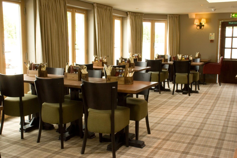 The Inn on Loch Lomond fine dining