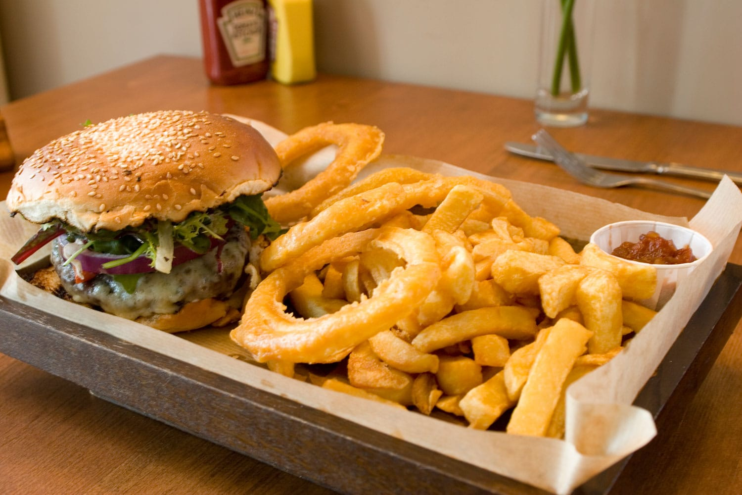 Loch Lomond Restaurant Burger