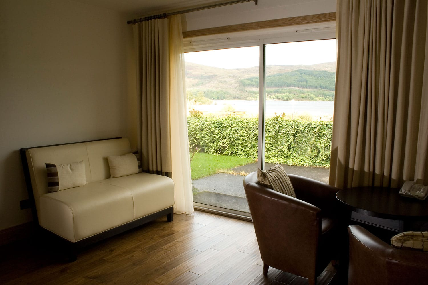 The Inn Beach House View to Loch Lomond