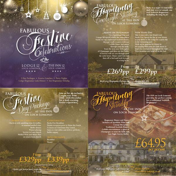 The Inn on Loch Lomond Festive Offers 2016