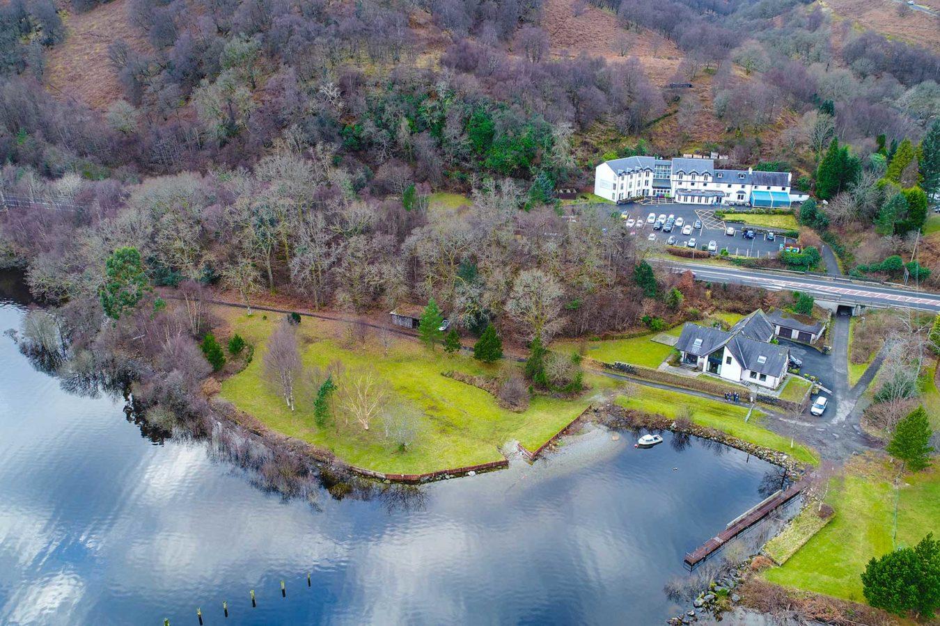 The-Inn-on-Loch-Lomond-Drone-Photo