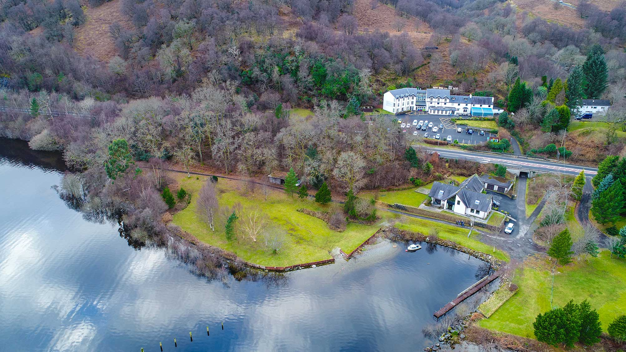 The-Inn-on-Loch-Lomond-Drone-Photo