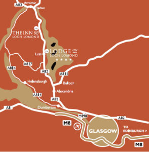 Inn-on-Loch-Lomond-Map