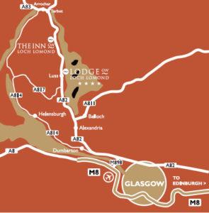 Inn-on-Loch-Lomond-Map