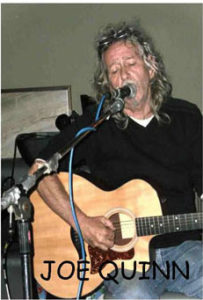 Joe Quinn plays solo gig at the Inn on Loch Lomond in 2016