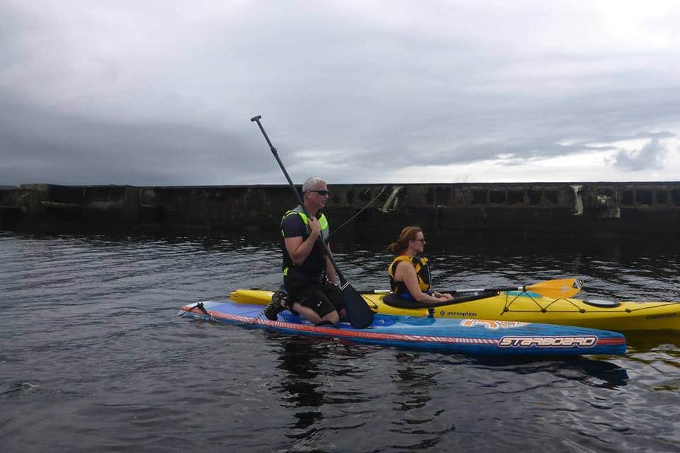 Niall Colquhoun SUP Store Loch Lomond