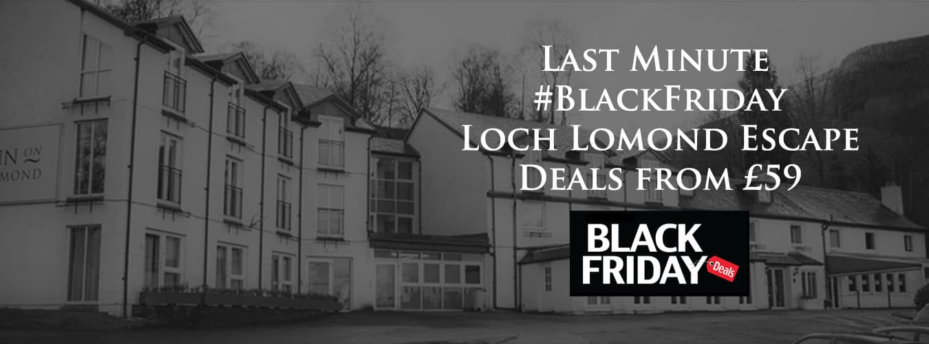 Black Friday deal The Inn on Loch Lomond