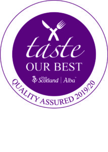 taste our best VisitScotland Quality Assurance